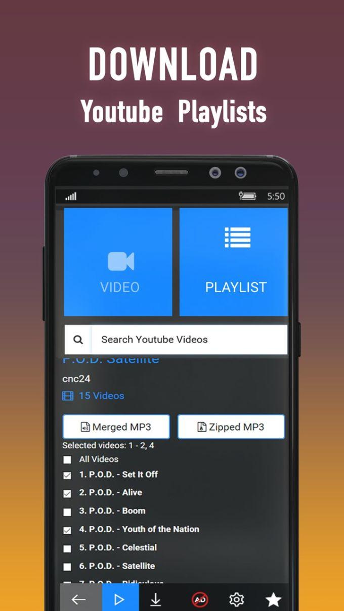 Youtube Downloader Converter 4K and FullHD