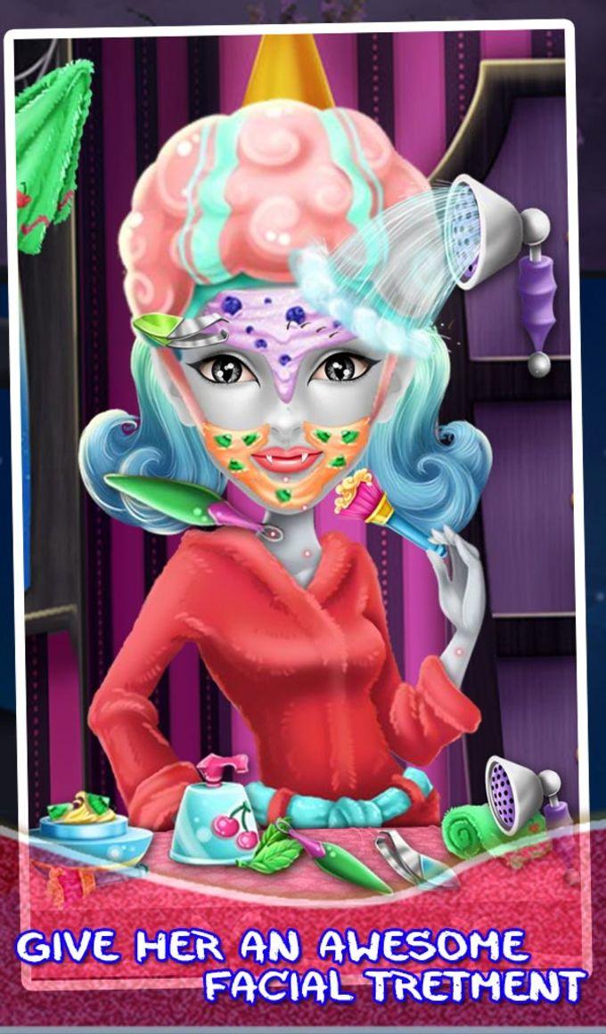 Halloween Makeup Salon Fun