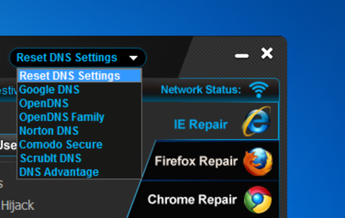 Anvi Browser Repair Tool