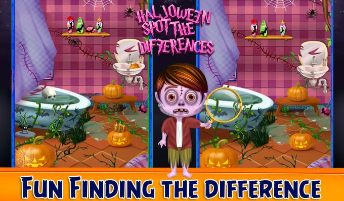 Halloween Spot Differences
