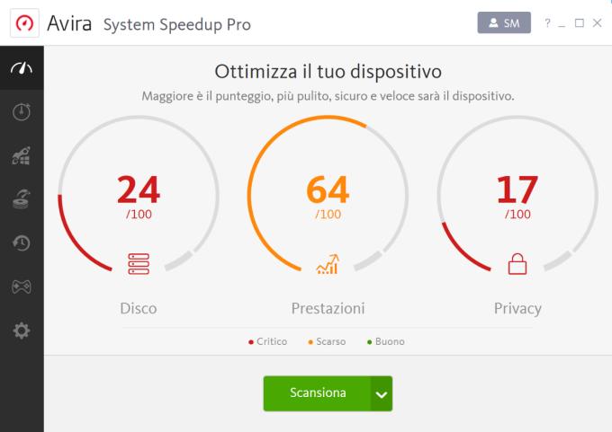 Avira Free System Speedup
