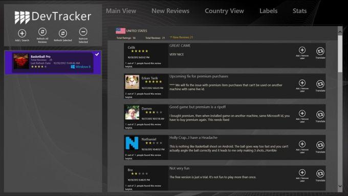 DevTracker for Windows 10