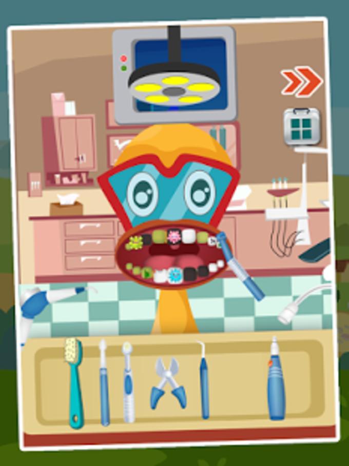 Dentista Animal - juego de niñ