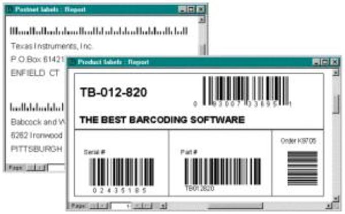 ABarCode for Access 2000/2002/2003