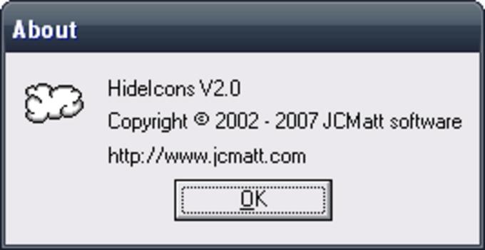 JCMatt Hide Icons