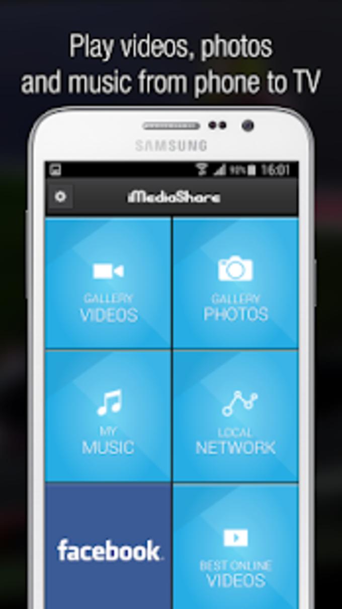 iMediaShare  Photos  Music