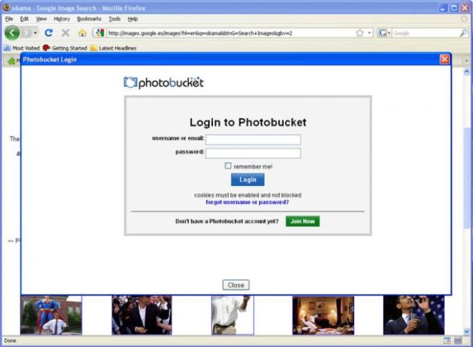 Photobucket Uploader