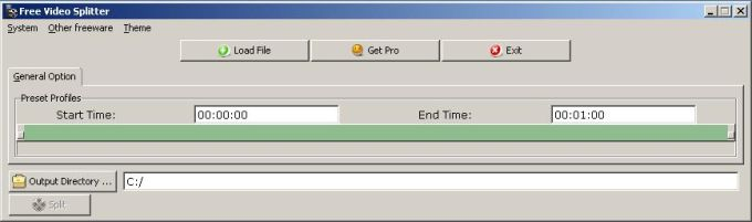 Free Video Splitter