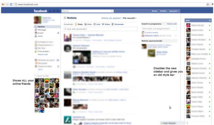 Facebook Retrò Chat