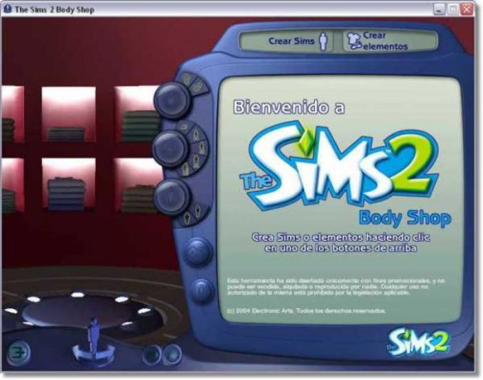 The Sims 2 Body Shop Starter Kit