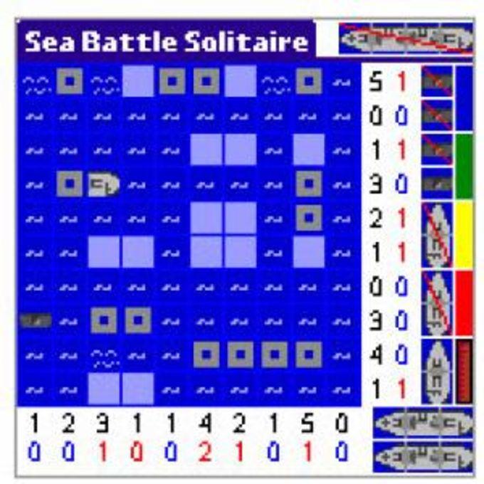 Sea Battle Solitaire