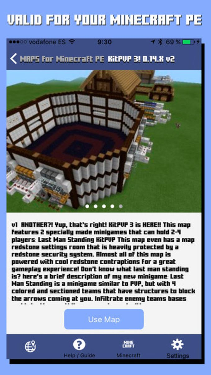 Maps for Minecraft PE - Pocket Edition for iPhone - Download