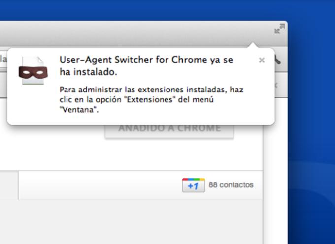 User-Agent Switcher