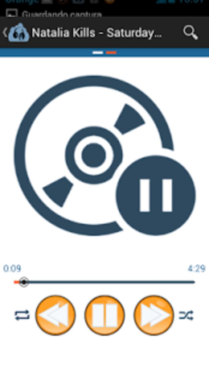 Audio Reproductor de música