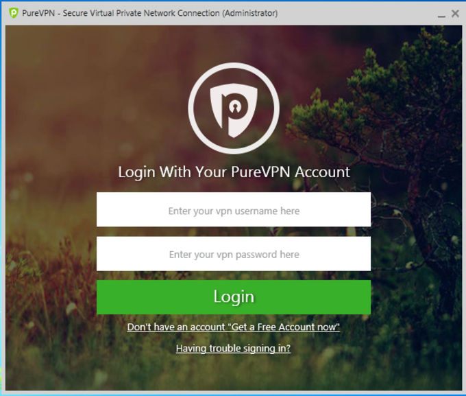 PureVPN Software for Windows