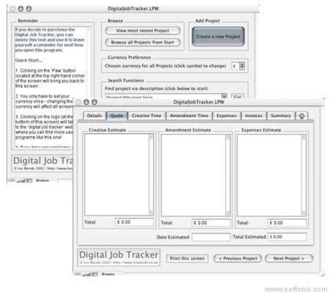 Digital Job Tracker