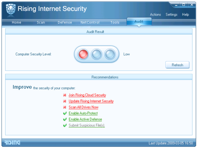 Rising Internet Security