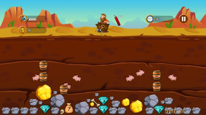 Gold Miner - Gold Rush Tycoon