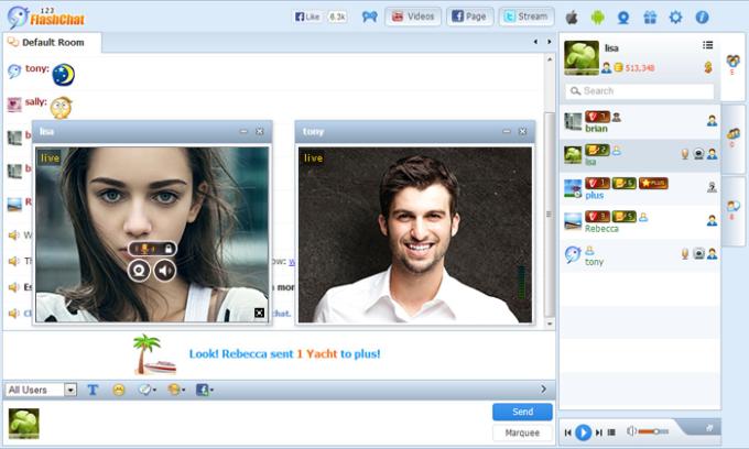 SocialEngine Chat Module