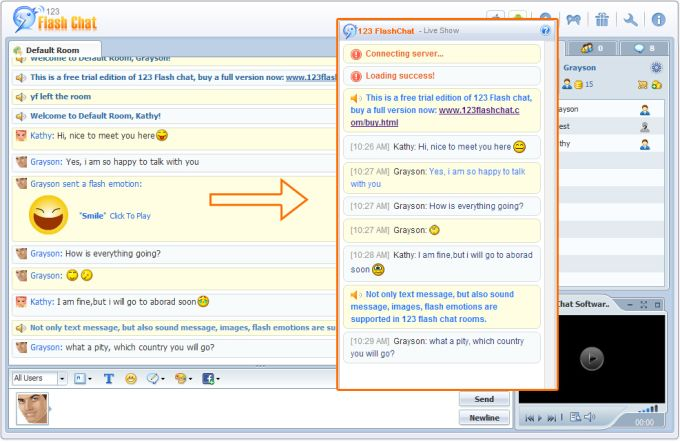 Joomla Chat Extension