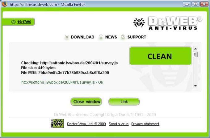 Dr.Web LinkChecker for Firefox