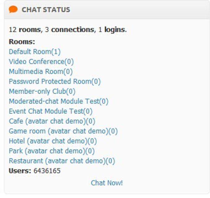Oxwall Chat Module