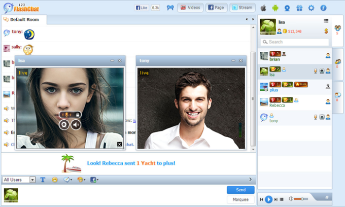 OsDate Chat Module