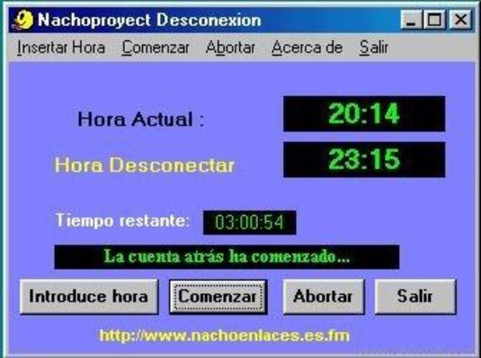 Nachoproyect Desconexion