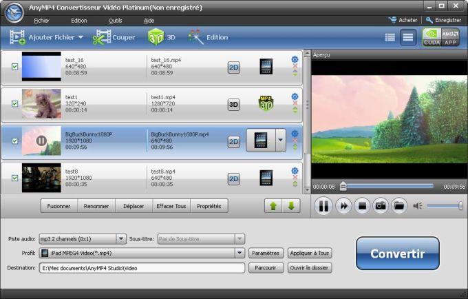 AnyMP4 Video Converter Platinum