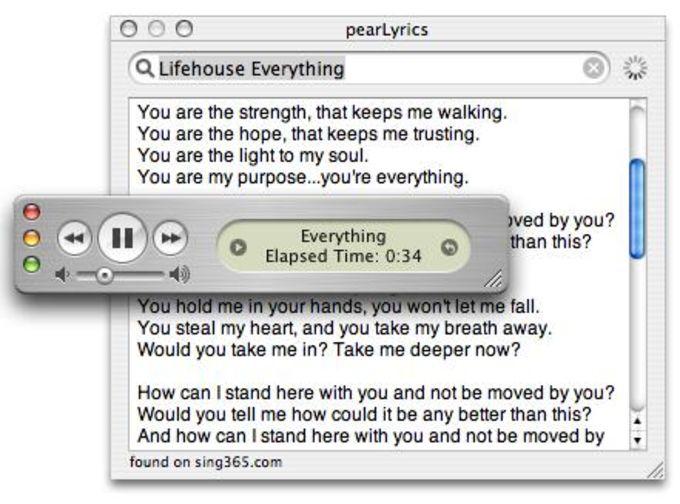 pearLyrics