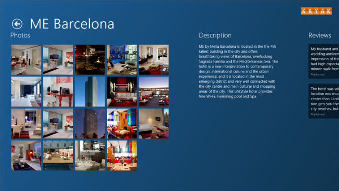 KAYAK Hotels  für Windows 10