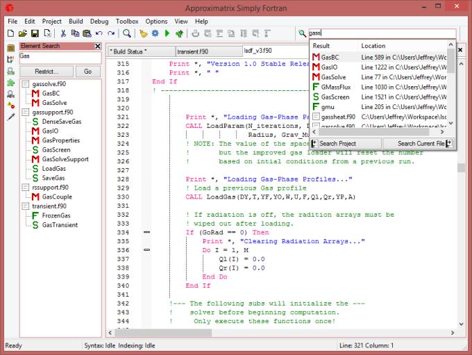 Simply Fortran