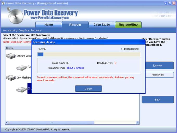 Power Data Recovery