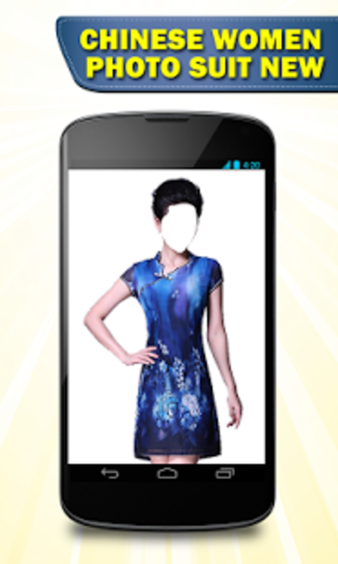 Chinese Women Photo Suit New