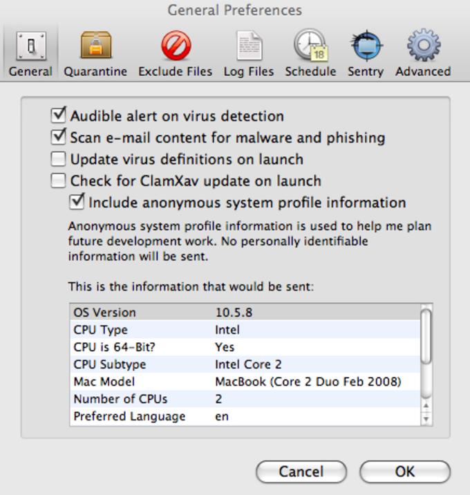 Download clamav for mac.