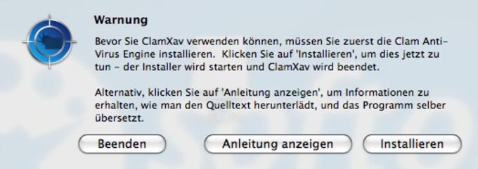 ClamXav für Mac - Download