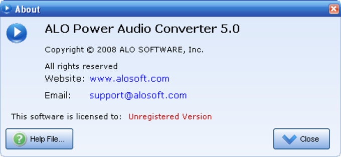 ALO Power Audio Converter