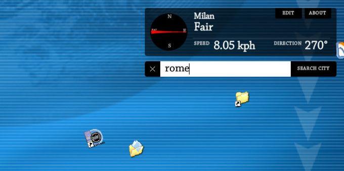 Kaze to Desktop Screensaver