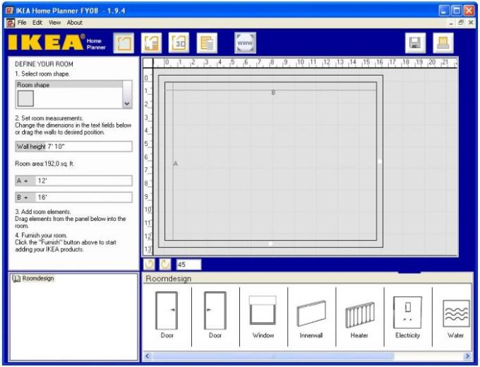 Ikea home kitchen planner download for Ikea planner download