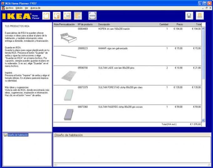 Ikea home planner bedroom descargar for Ikea planner app