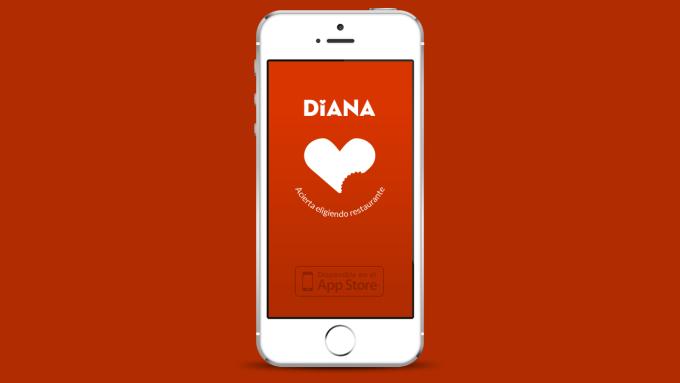 Diana, busca y acierta eligiendo restaurante