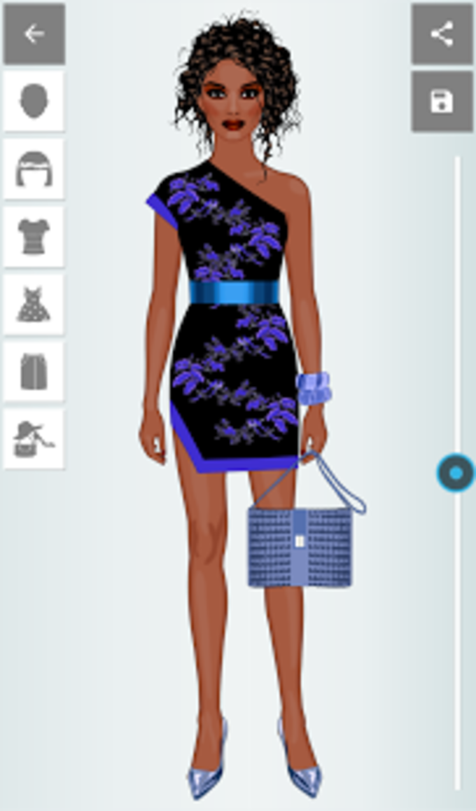 Recolor Fashion Dress Up