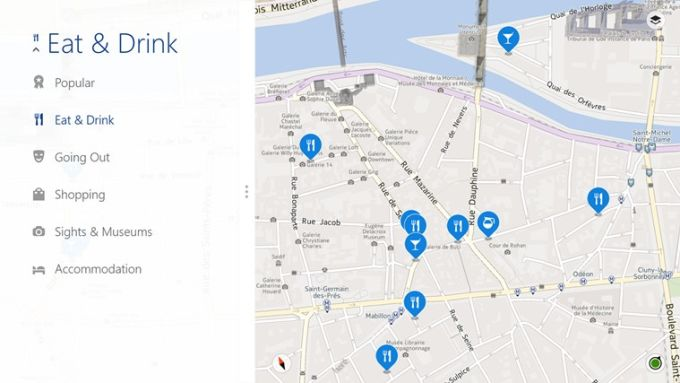 HERE Maps for Windows 10