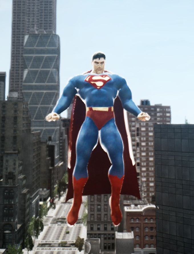SuperMan Mod for GTA IV