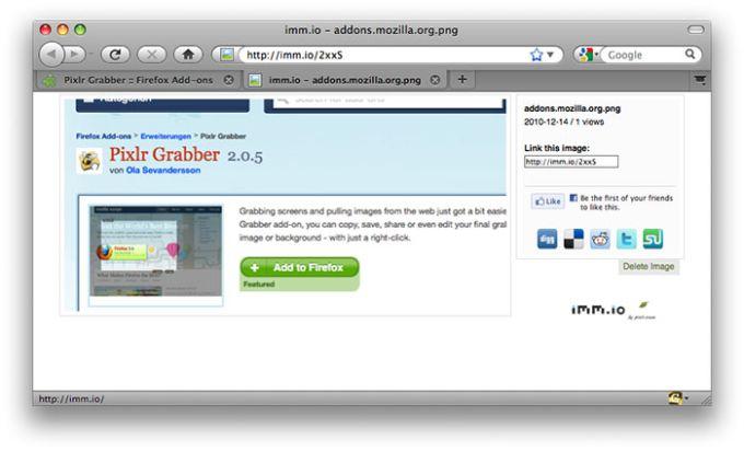 Pixlr Grabber