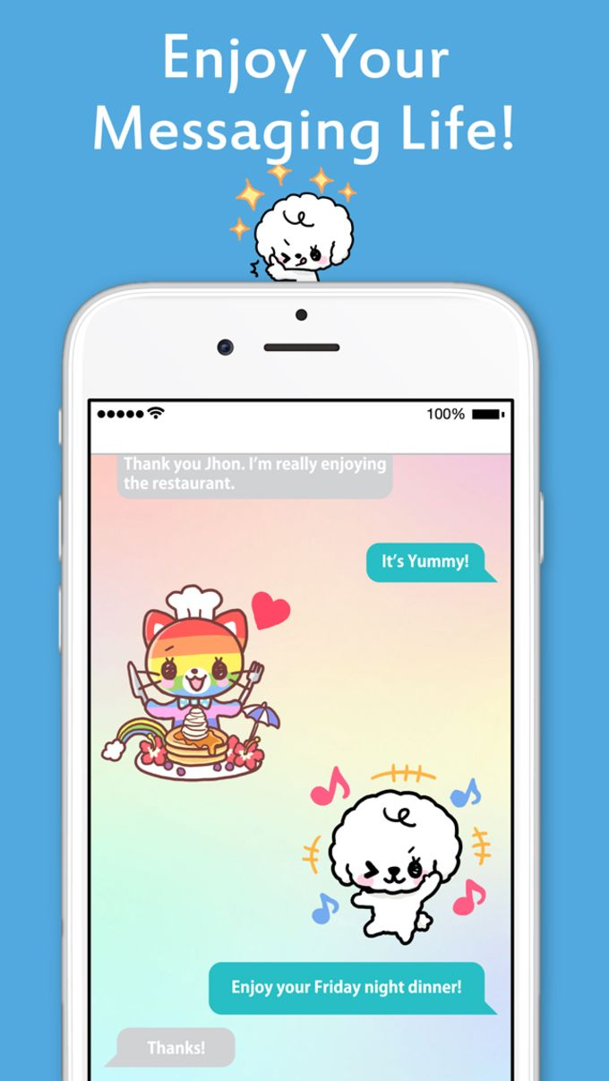 Kawaii Stickers for WhatsApp and WeChat