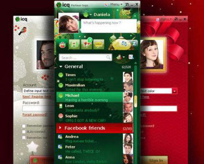 ICQ Christmas Skins