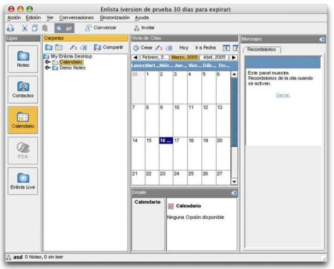 Enlista Calendar