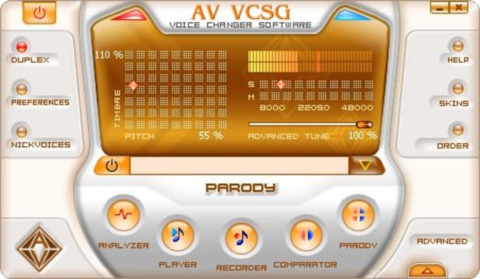 AV Voice Changer Software