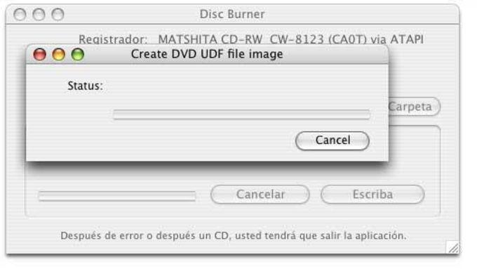 Disc Burner
